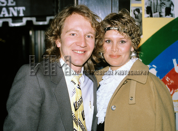 Craig Wasson and his wife pictured in New York city in 1982.