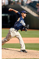 Cesar Carrillo  - San Diego Padres - 2009 spring training.Photo by:  Bill Mitchell/Four Seam Images