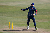 Peter Siddle of Essex warms up ahead of Day Four during Warwickshire CCC vs Essex CCC, LV Insurance County Championship Group 1 Cricket at Edgbaston Stadium on 25th April 2021
