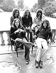 Deep Purple 1973 Ritchie Blaclmore, Ian Paice, Jon Lord, Glenn Hughes and David Coverdale