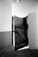 South Western style door ajar<br />