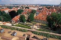 Gaerten des Hradschin, Prag, Tschechien, Unesco-Weltkulturerbe