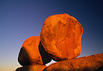 Devil's Marbles are called the 'Eggs of the Rainbow Serpent' by the Aborigines.