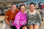 Enjoying Fenit beach on Sunday. L to r: Stacey O'Mahoney, Mary Carmody and Geraldine Griffin