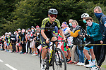 Esteban Chaves (COL) Mitchelton-Scott climbs Col de Marie Blanque during Stage 9 of Tour de France 2020, running 153km from Pau to Laruns, France. 6th September 2020. <br /> Picture: Colin Flockton   Cyclefile<br /> All photos usage must carry mandatory copyright credit (© Cyclefile   Colin Flockton)