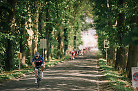 US National Champion Jonny Brown (USA/Hagens Berman Axeon) trying to break free <br /> <br /> 59th Grand Prix de Wallonie 2018 <br /> 1 Day Race from Blegny to Citadelle de Namur (BEL / 206km)