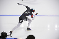OLYMPIC GAMES: PYEONGCHANG: 18-02-2018, Gangneung Oval, Long Track, 500m Ladies, Heather Bergsma (USA), ©photo Martin de Jong