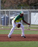 Michael Brown III takes part in the 2019 Under Armour Pre-Season All-America Tournament at the Chicago Cubs and Oakland Athletics training complexes on January 19-20, 2019 in Mesa, Arizona (Bill Mitchell)