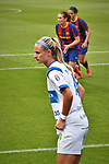 Liga IBERDROLA. Game 16.<br /> FC Barcelona vs UDG Tenerife Egatesa: 6-1.<br /> Clare Pleuler.