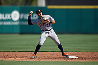 Detroit Tigers shortstop Trei Cruz (71) during practice before a Florida Instructional League intrasquad game on October 17, 2020 at Joker Marchant Stadium in Lakeland, Florida.  (Mike Janes/Four Seam Images)