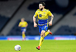 St Johnstone v Hibs…23.01.21   Hampden     BetFred Cup Semi-Final<br />Craig Conway<br />Picture by Graeme Hart.<br />Copyright Perthshire Picture Agency<br />Tel: 01738 623350  Mobile: 07990 594431
