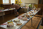 Petersham Village Richmond Surrey annual fete and flower show. Cake making competition. UK 2010s 2011 UK
