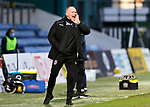 Ross County v St Johnstone…02.01.21   Global Energy Stadium     SPFL<br />Yogi Hughes shouts instructions<br />Picture by Graeme Hart.<br />Copyright Perthshire Picture Agency<br />Tel: 01738 623350  Mobile: 07990 594431