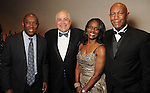 From left: Sylvester Turner, Dr. William Flores, Judge Clarease Yates and Cary Yates at Celebrating 40 Years: University of Houston- Downtown Gala at the JW Marriott Downtown Friday Jan. 23,2015.(Dave Rossman For the Chronicle)