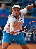 September 03, 2014,Netherlands, Alphen aan den Rijn, TEAN International, Steven Diez (CAN)<br /> Photo: Tennisimages/Henk Koster