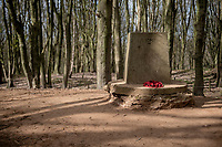 Empty (cobbled) roads up the infamous (WW1 Memorial) Kemmelberg on race day…<br /> <br /> Due to the international pandemic caused by the coronavirus COVID-19, the 82nd edition of Gent-Wevelgem in Flanders Fields (BEL/1.UWT), like all other Spring Classics in 2020, was cancelled which left the race roads (as the rest of the country in lockdown) eerily empty on race day…<br /> <br /> 1 day race from Ypres to Wevelgem (257km)<br /> <br /> ©kramon