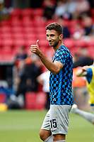 Marko Grujić of Hertha Berlin acknowledges the Hertha Berlin BSC fans during the pre season friendly match between Crystal Palace and Hertha BSC at Selhurst Park, London, England on 3 August 2019. Photo by Carlton Myrie / PRiME Media Images.