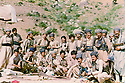 Iraq 1982 .In Nawzang, near Zahle, standing 6th from left, Hero Talabani, next , Hatge Yachar, next, Mulla Bakhtiar.Irak 1982.A nawzang, pres de Zahle, debout 6eme de gauche a droite, Hero Talabani, hatge Yachar et Mulla Baktiar