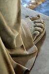 The details of tomb statue of Napoleon Bonaparte. Hotel les Invalides. Paris. city of Paris. France