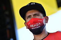 5th September 2020, Grand Colombier, France;  QUINTANA Nairo (COL) of TEAM ARKEA - SAMSIC during stage 8 of the 107th edition of the 2020 Tour de France cycling race, a stage of 140 kms with start in Cazeres-sur-Garonne and finish in Loudenvielle