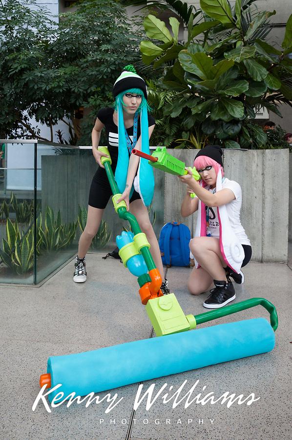 Inklings cosplay, Pax Prime 2015, Seattle, Washington State, WA, America, USA.