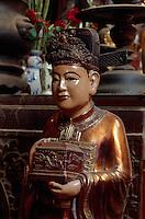 Tempel am Hoan Kiem-See in Hanoi, Vietnam