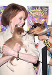 Mary Tyler Moor.Backstage at Broadway Barks Lucky 13th Annual Adopt-a-thon  in New York City.