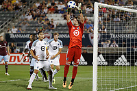 Commerce City, CO - Saturday, June 23, 2018: Colorado Rapids played Minnesota United FC in a Major League Soccer (MLS) game at Dick's Sporting Goods Park.  Final score Colorado Rapids 3, Minnesota United 2