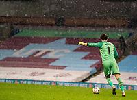 9th January 2021; Turf Moor, Burnley, Lanchashire, England; English FA Cup Football, Burnley versus Milton Keynes Dons; Lee Nicholls of MK Dons takes a goal kick