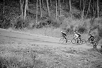 breakaway group up the Col du Rosier<br /> <br /> 102nd Liège-Bastogne-Liège 2016