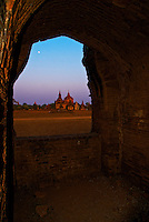 Ancient ruins of Bagan, Myanmar, Burma
