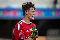 SAN JOSE, CA - MAY 15: Hunter Sulte #26 of the Portland Timbers during a game between San Jose Earthquakes and Portland Timbers at PayPal Park on May 15, 2021 in San Jose, California.