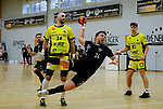 Deutschland - Sport<br /> Handball - Aufstiegsrunde zur 2. Bundesliga<br /> TuS Dansenberg (dan) - HSG Krefeld Niederrhein (kref) 24:21<br /> Sebastian BOESING (TuS Dansenberg), re - Domagoj SRSEN (kref)<br /> <br /> <br /> Foto © PIX-Sportfotos *** Foto ist honorarpflichtig! *** Auf Anfrage in hoeherer Qualitaet/Aufloesung. Belegexemplar erbeten. Veroeffentlichung ausschliesslich fuer journalistisch-publizistische Zwecke. For editorial use only.