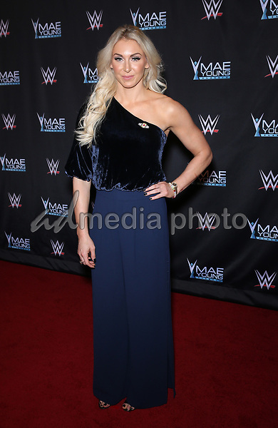 12 September 2017 - Las Vegas, Nevada - Charlotte.  WWE Mae Young Classic Red Carpet at Thomas and Mack Arena.  Photo Credit: MJT/AdMedia