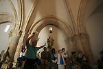 The Cenacle, Room of Last Supper on Mount Zion