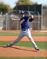Dan Jagiello - Los Angeles Dodgers 2018 spring training (Bill Mitchell)