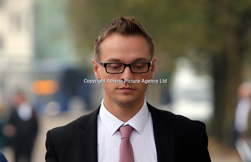 Matthew Scully-Hicks leaves Cardiff Crown Court