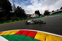 28h August 2021; Spa Francorchamps, Stavelot, Belgium: FIA F1 Grand Prix of Belgium, qualifying sessions;   44 Lewis Hamilton GBR, Mercedes-AMG Petronas F1 Team