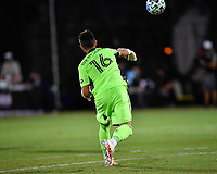 LAKE BUENA VISTA, FL - JULY 26: Quentin Westberg of Toronto FC throws the ball during a game between New York City FC and Toronto FC at ESPN Wide World of Sports on July 26, 2020 in Lake Buena Vista, Florida.