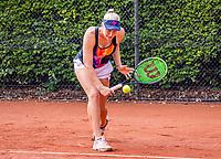 Hilversum, Netherlands, August 5, 2021, Tulip Tennis center, National Junior Tennis Championships 16 and 18 years, NJK, girls single 18 years, Melissa Boyden (NED)<br /> Photo: Tennisimages/Henk Koster