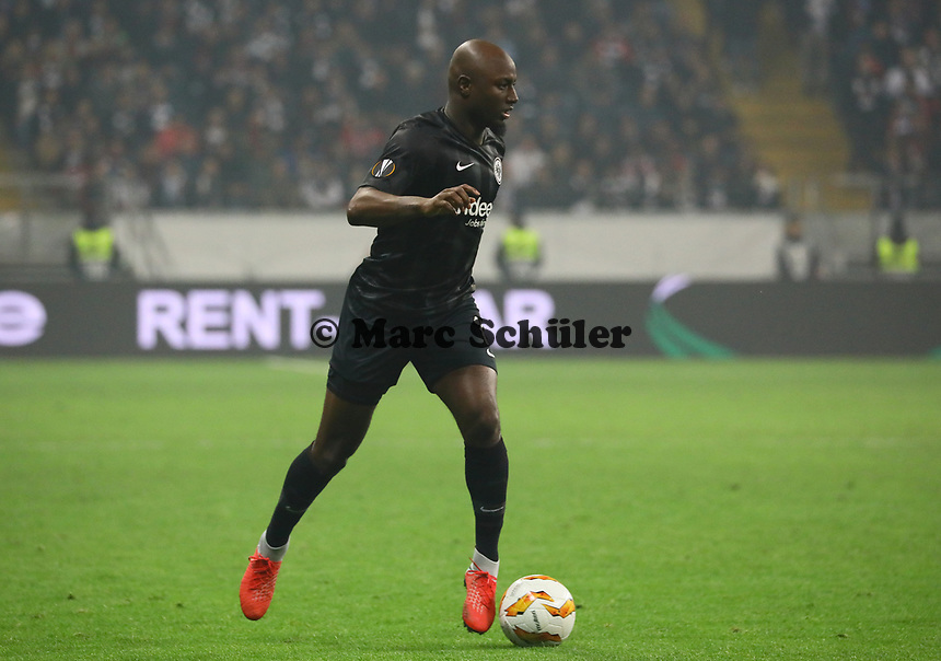 Jetro Willems (Eintracht Frankfurt) - 25.10.2018: Eintracht Frankfurt vs. Apollon Limassol FC, Commerzbank Arena, Europa League 3. Spieltag, DISCLAIMER: DFL regulations prohibit any use of photographs as image sequences and/or quasi-video.