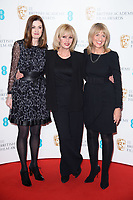 Amanda Barry, Joanna Lumley and Jane Lush<br /> at the photocall for BAFTA Film Awards 2018 nominations announcement, London<br /> <br /> <br /> ©Ash Knotek  D3367  09/01/2018