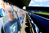 Cardboard cut-outs take the place of actual fans in the stands<br /> <br /> Photographer Rich Linley/CameraSport<br /> <br /> The EFL Sky Bet Championship - Sheffield Wednesday v Nottingham Forest - Saturday 20th June 2020 - Hillsborough - Sheffield <br /> <br /> World Copyright © 2020 CameraSport. All rights reserved. 43 Linden Ave. Countesthorpe. Leicester. England. LE8 5PG - Tel: +44 (0) 116 277 4147 - admin@camerasport.com - www.camerasport.com