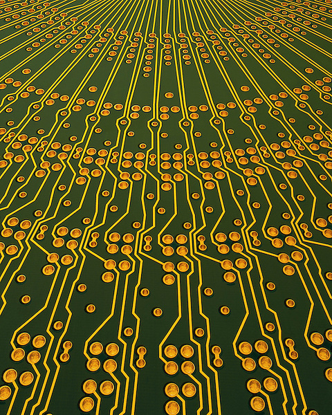 Radial printed circuit board for computerize equipment .  John leads private photo tours in Boulder and throughout Colorado. Year-round Colorado photo tours.