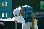Diego Schwartzman (ARG) is defeated by Cameron Norrie (GBR) 0-6, 2-6, at the BNP Paribas Open being played at Indian Wells Tennis Garden in Indian Wells, California on October 14,2021: ©Karla Kinne/Tennisclix/CSM