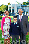 Dara Martina and Con Lynch at the Lissivigeen Confirmation in St Marys CAthedral on Saturday