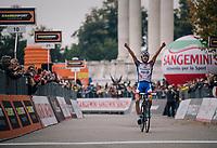 Thibaut Pinot (FRA/Groupama-FDJ) wins the  99th Milano - Torino 2018 (ITA)<br /> <br /> from Magenta to Superga: 200km