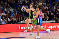 Whitney Souness of the Pulse during the ANZ Premiership Netball - Te Wānanga o Raukawa Pulse v Southern Steel at Te Rauparaha Arena, Porirua, New Zealand on Sunday 16 May 2021.<br /> Photo by Masanori Udagawa. <br /> www.photowellington.photoshelter.com