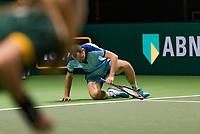 Rotterdam, The Netherlands, 15 Februari 2019, ABNAMRO World Tennis Tournament, Ahoy, quarter finals, doubles, Matwe Middelkoop (NED),  <br /> Photo: www.tennisimages.com/Henk Koster
