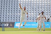 Stuart Broad of Nottinghamshire appeals for the wicket of Paul Walter during Nottinghamshire CCC vs Essex CCC, LV Insurance County Championship Group 1 Cricket at Trent Bridge on 9th May 2021